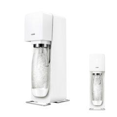 おうちで簡単に炭酸水が作れちゃう!どこでも使えて、とても便利。