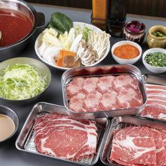冬こそおいしい!あったか鍋料理贅沢しゃぶしゃぶのごちそうディナー